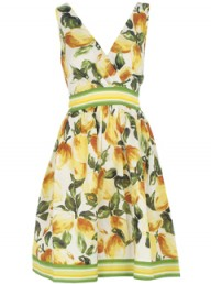 Dorothy Perkins Lemon crossover sundress