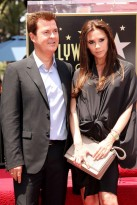 Simon Fuller and Victoria Beckham - Simon Fuller Hollywood Walk of Fame Star ceremony