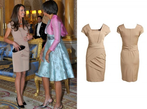 Kate Middleton Reiss dress - Kate Middleton high street style - Duchess of Cambridge