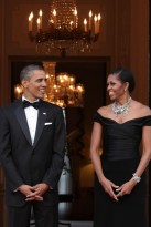 Michelle and Barack Obama visit London - European visit