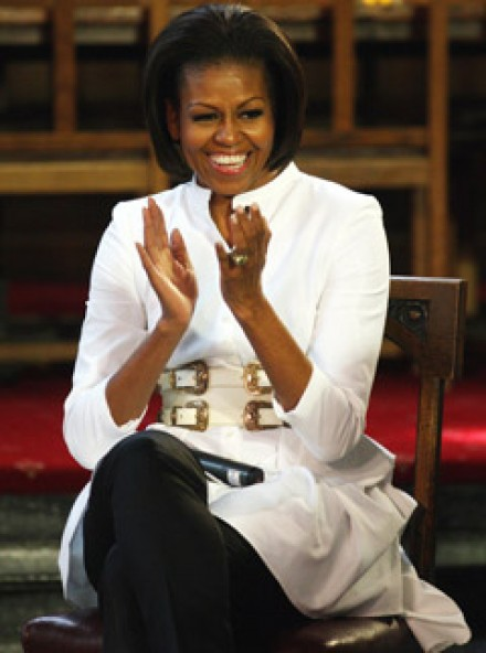 Michelle Obama - ?Don?t be afraid to fail? Michelle Obama?s inspiring career advice for schoolchildren - Michelle Obama Visit - Marie Claire - Marie Claire UK