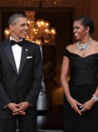 Barack and Michelle Obama London visit