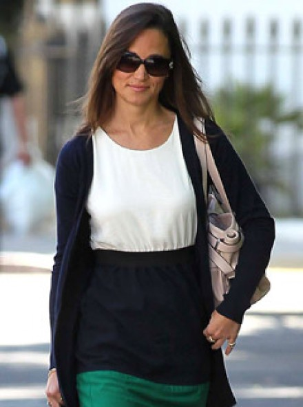 Pippa Middleton - Pippa Middleton's high street style - Kate Middleton - Reiss - Dress - Marie Claire - Marie Claire UK