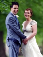 Ed Miliband and Justin Thornton wedding pics