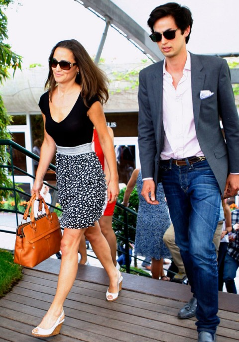 Pippa-Middleton at French Open tennis tournament photos