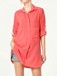 Zara oversized blouse