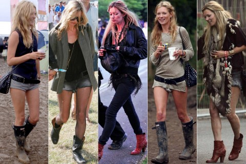 Kate Moss - Utimate Festival Fashionistas - Festival Fashion - Festivals 2011 - Marie Claire - Marie Claire UK