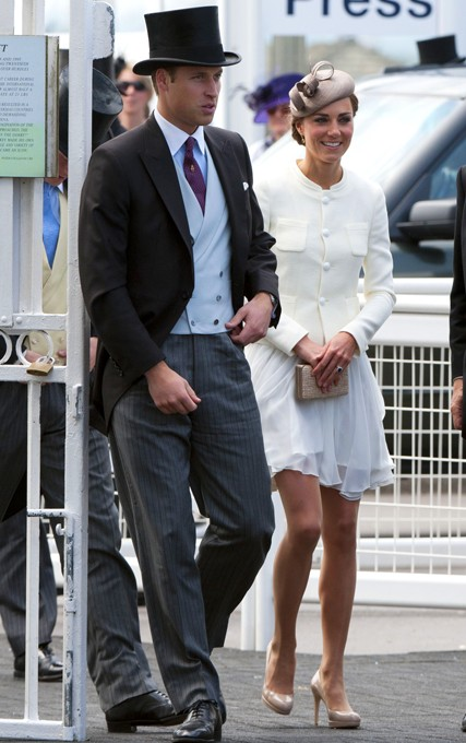 Royal Family at the Epsom Derby - Kate Middleton, Prince William, The Queen, Prince Harry, Princess Beatrice, Princess Eugenie