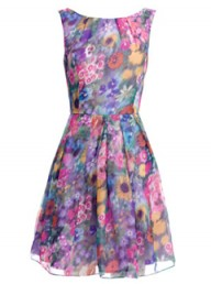 Monsoon Fusion Kaleidoscope Dress