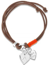 Shop the limited edition Annie Haak Tiny Tali Orange bracelet