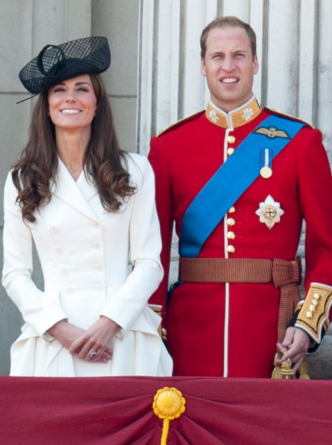 Kate Middleton and Prince William Trooping the Colour