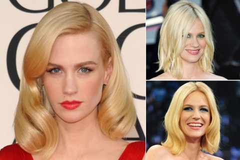 January Jones - Blondes - Blonde Hair - Stars with blonde hair - Celebrity Blondes - Celebrity Hairstyles - Hair - Blonde Hair - Marie Claire - Marie Claire UK