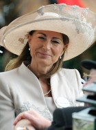 Carole Middleton at Ascot 2011