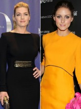 Kate Winslet and Olivia Palermo in Victoria Beckham dresses