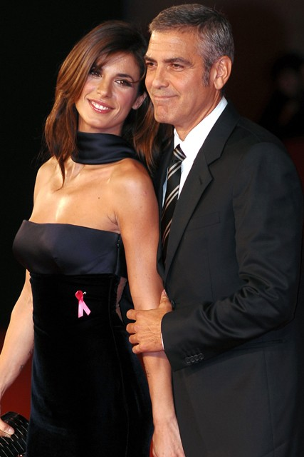 Elisabetta Canalis - George Clooney girlfriends - George Clooney dated