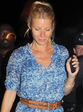 Gwyneth Paltrow at the secret Beyonce gig in London