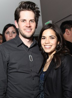 America Ferrera and Ryan Piers Williams wedding - married