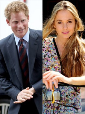 Prince Harry &amp; Florence Brudenell-Bruce - Prince Harry Prince Harry &amp; Florence Brudenell-Bruce - Prince Harry Florence - Prince Harry dating - Chelsy Davy - Marie Claire 