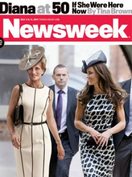 Princess Diana Kate Middleton - Newsweek - Newsweek?s Diana at 50 cover: bad taste or brilliant? - Princess Diana at 50 - Marie Claire - Marie Claire UK