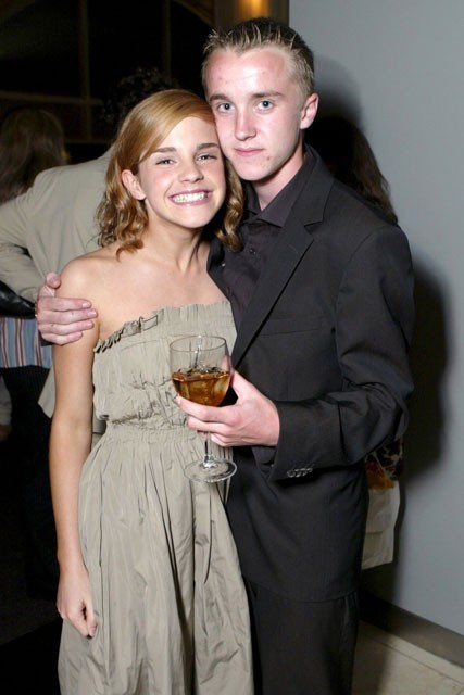 Emma Watson reveals crush on Tom Felton