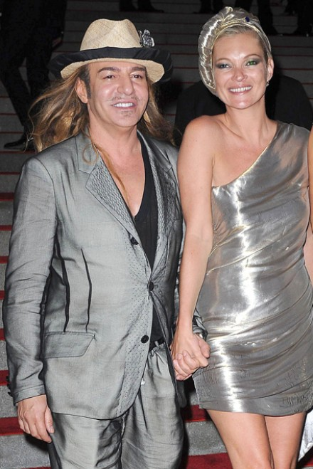 Kate Moss to wear John Galliano wedding dress