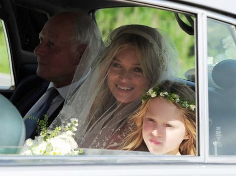 Kate Moss - Kate Moss marries Jamie Hince - Kate Moss Marries - Kate Moss Wedding - The Wedding of Kate Moss and Jamie Hince - Marie Clarie - Marie Claire - Marie Claire UK