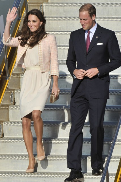 Kate Duchess of Cambridge and Prince William visit Canada