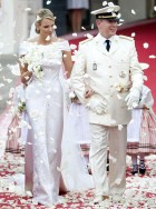 Prince Albert II of Monaco marries Princess Charlene