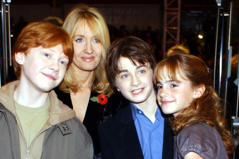 Rupert Grint, Emma Watson and Daniel Radcliffe - 10 years of Harry Potter premieres