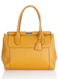 Oasis ostrich-style handbag