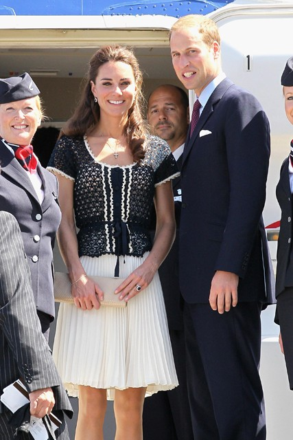 Duke and Duchess of Cambridge visit North America - USA tour