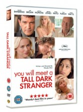 You Will Meet a Tall Dark Stranger - WIN: You Will Meet a Tall Dark Stranger on DVD - Twitter Competition - Twit Comp - Win - Competitions - Marie Claire - Marie Claire UK