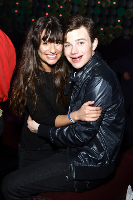 Glee - Lea Michele and Chris Colfer to leave Glee - Lea Michele and Chris Colfer - Lea Michele - Chris Colfer - Cory Monteith - Marie Claire - Marie Claire UK - Marieclaire.co.uk