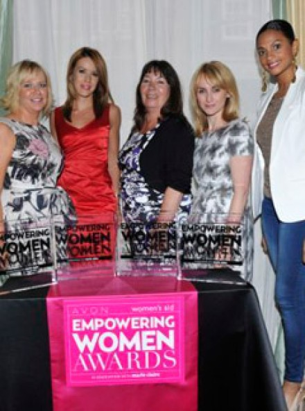 Celebrity supporters and inspirational survivors hit Claridges for 2011 Women's Aid Awards