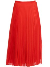 Whistles red Carrie skirt