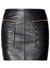 Mango leather skirt LP