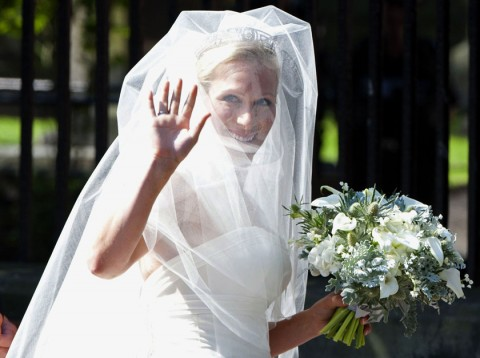Zara Phillips and Mike Tindall Wedding