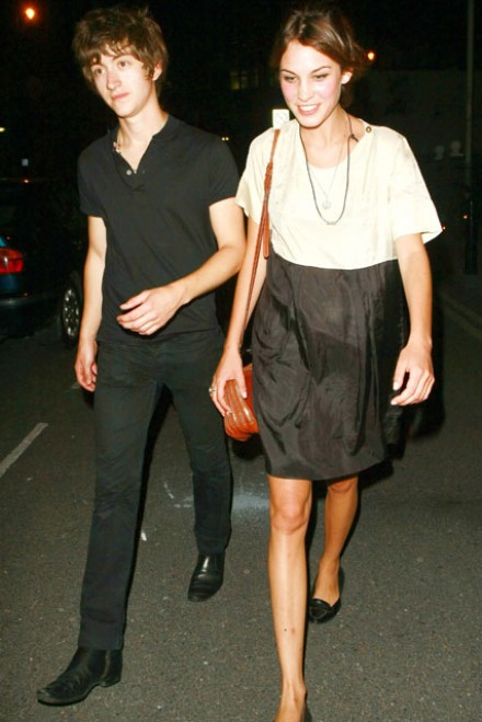 Alexa Chung & Alex Turner - Alexa Chung & Alex Turner split - Alexa Chung - Alex Turner - Marie Claire - Marie Claire UK