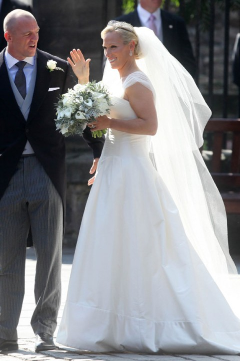 the wedding of zara phillips and mike tindall - royal wedding - guests - best dressed - fashion - wedding fashion