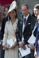 Prince William Kate Middleton - Prince William - Kate Middleton - The Duke &amp; Duchess of Cambridge - The Duke of Cambridge - The Duchess of Cambridge - Zara Phillips &amp; Mike Tindall's wedding - Marie Claire - Marie Claire UK