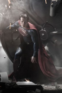 Superman - FIRST LOOK! Henry Cavill as Superman - Henry Cavill Superman - Henry - Cavill - Marie Claire - Marie Clarie UK 