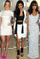 FOX All Star Summer Party - Lea Michele - Nicole Scherzinger - Jayma Mays - Fox Party - Marie Claire - Marie Claire UK