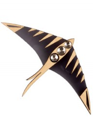 Holly Fulton swallow brooch LP