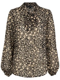 Marks & Spencer star print blouse LP