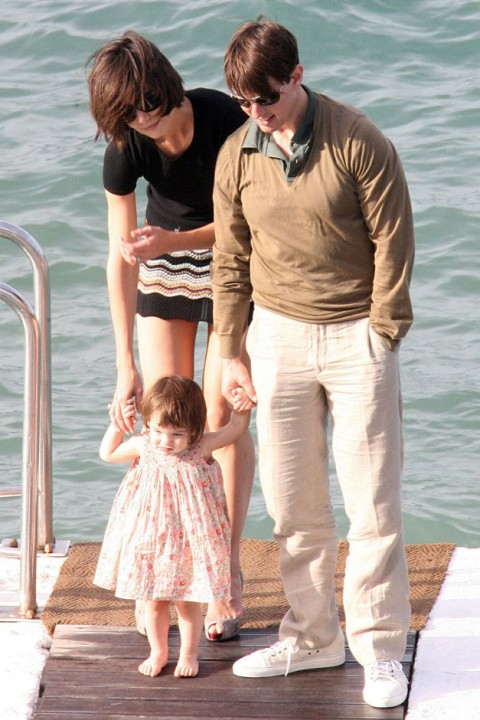 Tom Cruise, Katie Holmes &amp; Suri Cruise - Tom Cruise - Katie Holmes - Suri Cruise - Katie Holmes Suri - Suri Cruise Style - Katie Holmes Style - Marie Claire - Marie Claire UK