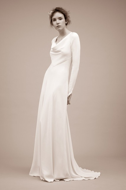 winter wedding dresses fashion pictures marie claire