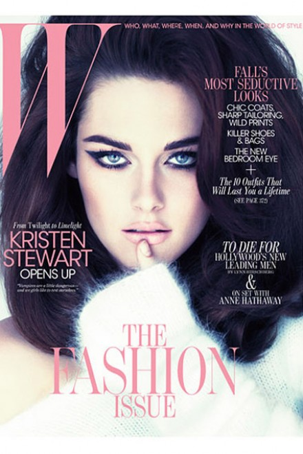Kristen Stewart - FIRST LOOK! Kristen Stewart's sizzling W Cover - Kristen Stewart W magazine - Entertainment Weekly - Robert Pattinson - Robert Pattinson Kristen Stewart - Twilight Breaking Dawn - Breaking Dawn - Marie Claire - Marie Claire UK