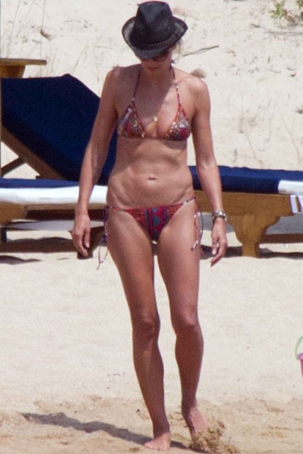Heidi Klum and Seal on holiday - bikini pics