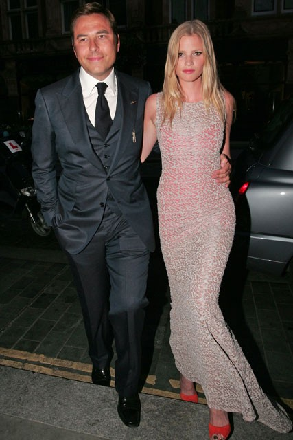David Walliams and Lara Stone - David Walliams 40th birthday party