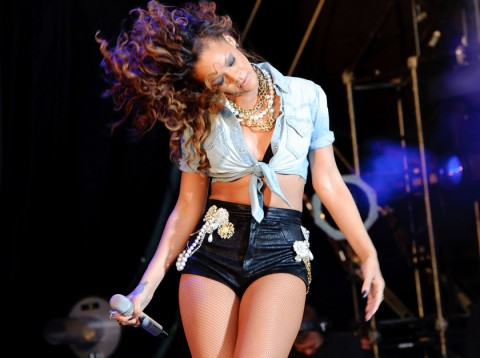 Rihanna - V Festival 2011: Performances - V Festival 2011 - Virgin Media V Festival - Eminem - Rihanna - Marie Claire - Marie Claire UK